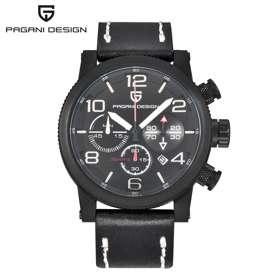 Top Brand Luxury Man Watch Waterproof Sport Military Army Quartz Wrist Watch Chronograph Hours Clock Men 2017 SAAT Montre Homme megir sport mens watches top brand luxury male leather waterproof chronograph quartz military wrist watch men clock saat 2017