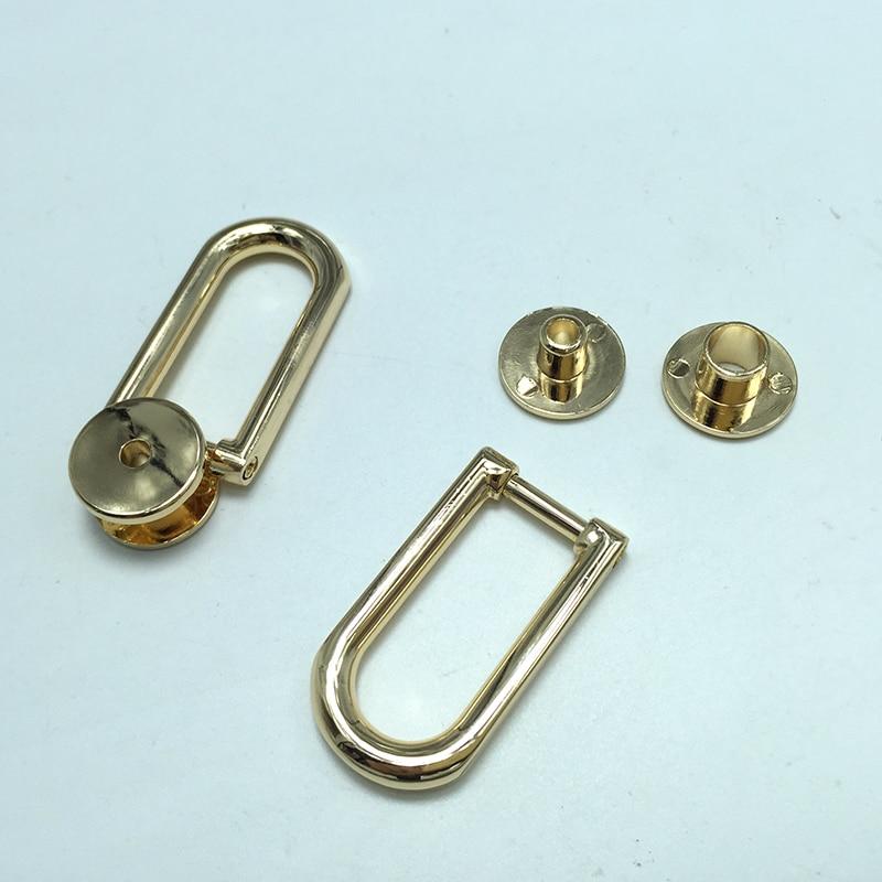 D-Sharp Bag Handle,  bag clip in Gold Plating sharp r 8772nsl