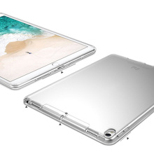Case for iPad Pro 12.9 inch 2017 Ultra Slim TPU Clear Color Transparent Back Case for iPad Pro 12.9 Protective Skin Shell Case цена в Москве и Питере