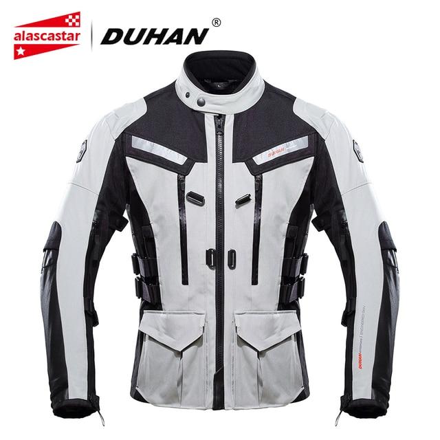 dd6dca81e DUHAN Motorcycle Jacket Men Touring Travel Riding Waterproof Motocross  Off-Road Racing Raincoat and Protective Gear Moto Jacket