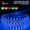 TSLEEN Free Shipping Waterproof Cutable 60LED M LED Strip Light Lamp 220V 5050SMD Light Fixtures For
