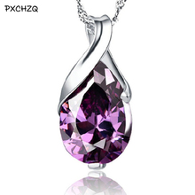 Tears pendant fashion Silver Colour drop-type female models wild angel cute vintage jewelry super flash jewelry