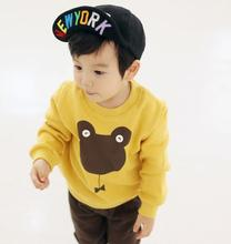 Youngsters 's Korean model of the spring within the huge boys child child sweater jacket child head T – shirt on behalf of the fats