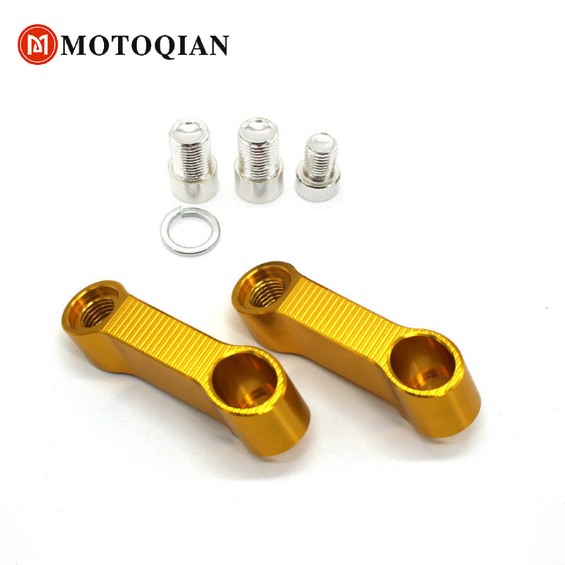 For CB1000R CB600F Hornet CB600/CB900 CB1300SF CB750 CB400 Motorcycle Mirror Riser Extenders Spacers Extension Adaptor