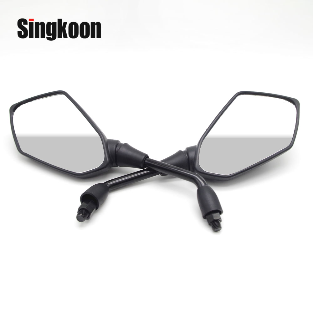Universal 10mm Motorcycle Rearview Mirrors Black Scooter Moto Side Mirrors FOR benelli trk502 vulcan s bmw r nine t piaggio Universal 10mm Motorcycle Rearview Mirrors Black Scooter Moto Side Mirrors FOR benelli trk502 vulcan s bmw r nine t piaggio