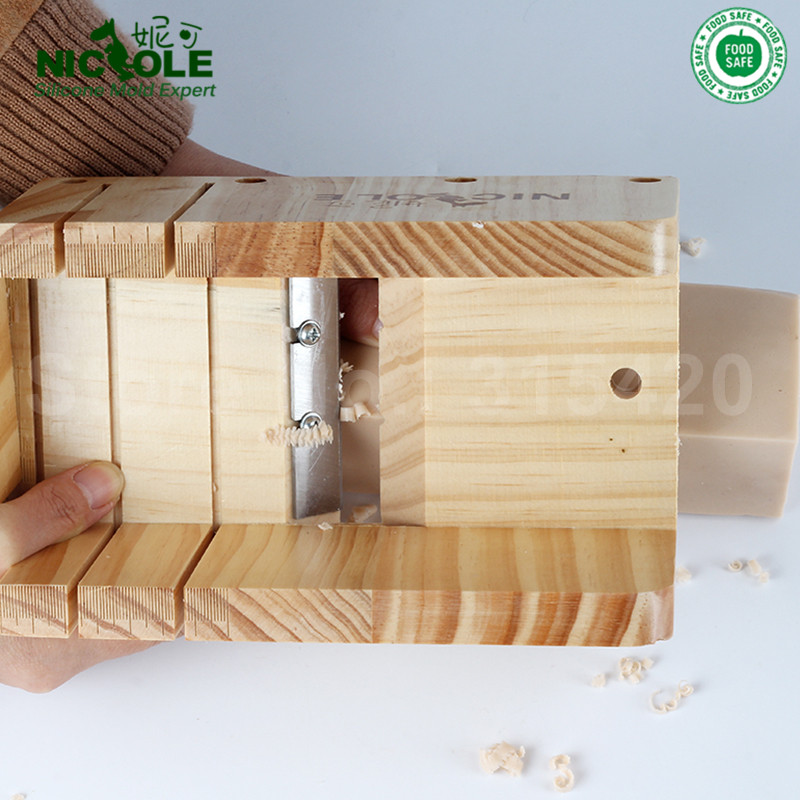 Silikonski kalup za izradu sapuna Alat Set-4 podesivi drveni štruca - Umjetnost, obrt i šivanje - Foto 5