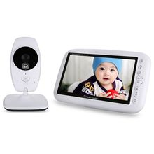 7.0 Inch Infant Wireless Baby Sleep Monitor Night-Vision Baby Babysitter View Video Music Temperature Display Radio Nanny Came все цены
