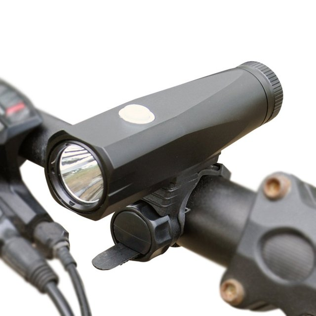 Cooloh LR-Y1 LED Cycling USB Rechargeable Waterproof Bike Front Light Bicycle
