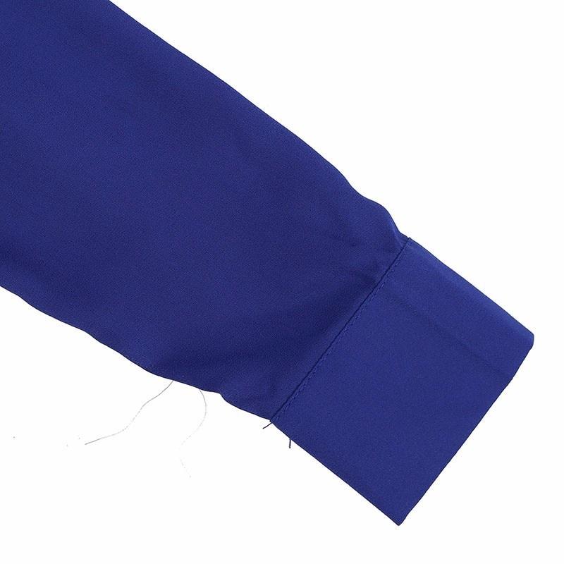 HTB1mSuoLXXXXXcJaXXXq6xXFXXX9 - Women Shirt Vestido Bow Long Sleeve Casual Amsymetircal Chiffon