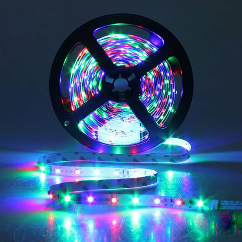 RGB 5M 300lights LED Light Strings Strip Lights Festival Decoration Lighting Waterproof New year Party Supplies SA585 T0.45 T0.2