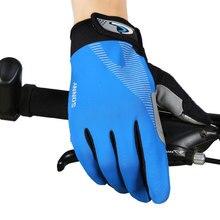 Полный палец велосипедные перчатки велосипед с сенсорным экраном перчатки летние для занятий фитнесом дышащие Нескользящие велосипедные перчатки для мужчин и женщин