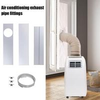 New Arrival Durable Adjustable 45 120cm Air Conditioner Window Slide Plate Exhaust Hose Tube Connector Kit For Air Conditioner