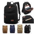 New Canvas Laptop Backpack 15 15.4 15.6 inch High Quality laptop Bag For Macbook Pro swagger bag School Bag For College student