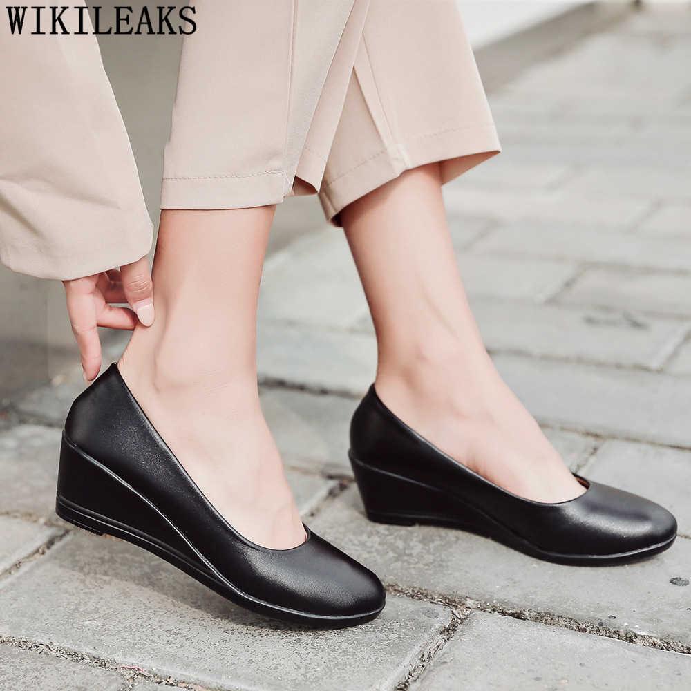 Zeppe scarpe per le donne fetish tacchi alti scarpe eleganti tacchi delle signore delle donne ufficio scarpe da donna nero degli alti talloni sapato feminino