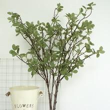 5 Pcs Artificial Plant Eucalyptus Leaves Garden Simulation Flower Money Wedding Decoration Family Hotel Party