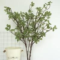 5 Pcs Artificial Plant Eucalyptus Leaves Garden Simulation Flower Money Leaves Wedding Decoration Family Hotel Party Decoration