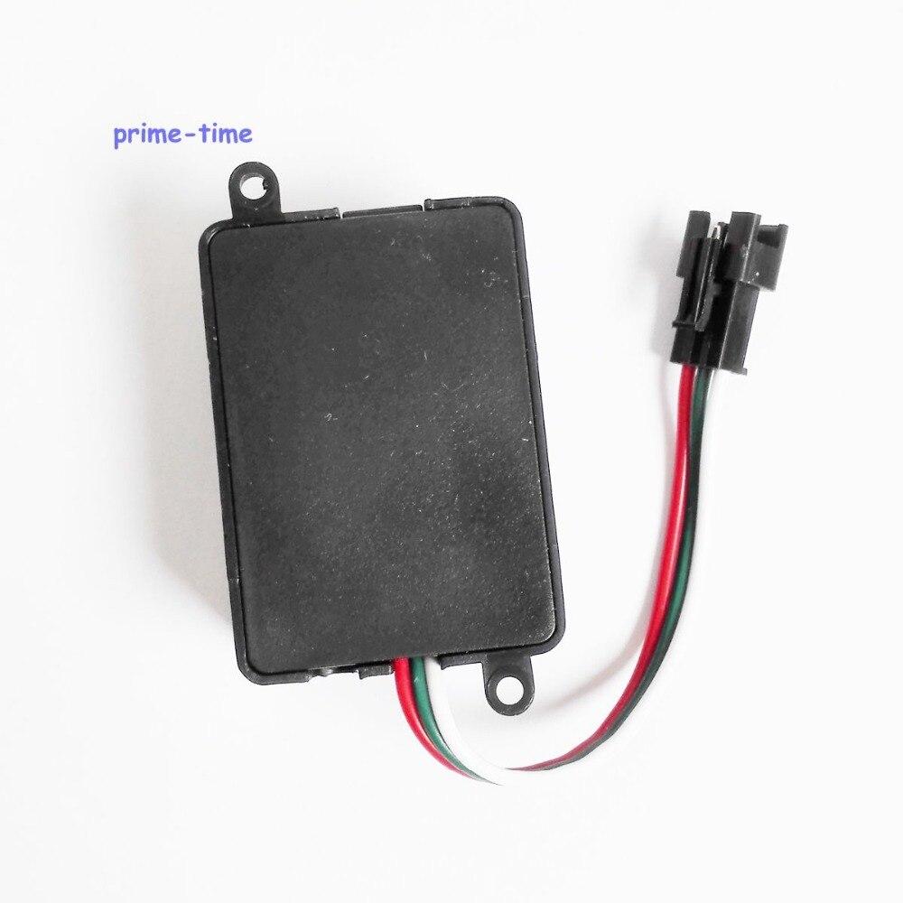 10 pçs/lote Melhor Qualidade mini Sem Fio WS2801 Digitais levou módulo de pixel led strip WS2811 WS2812B SP101E RF RGB LEVOU Controlador - 5