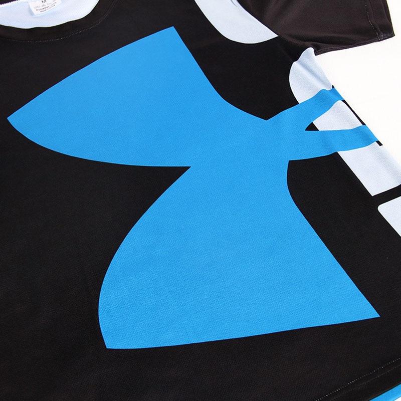 Yüksek Kaliteli Polyester 3D Baskılı T-Shirt Erkekler - Erkek Giyim - Fotoğraf 6