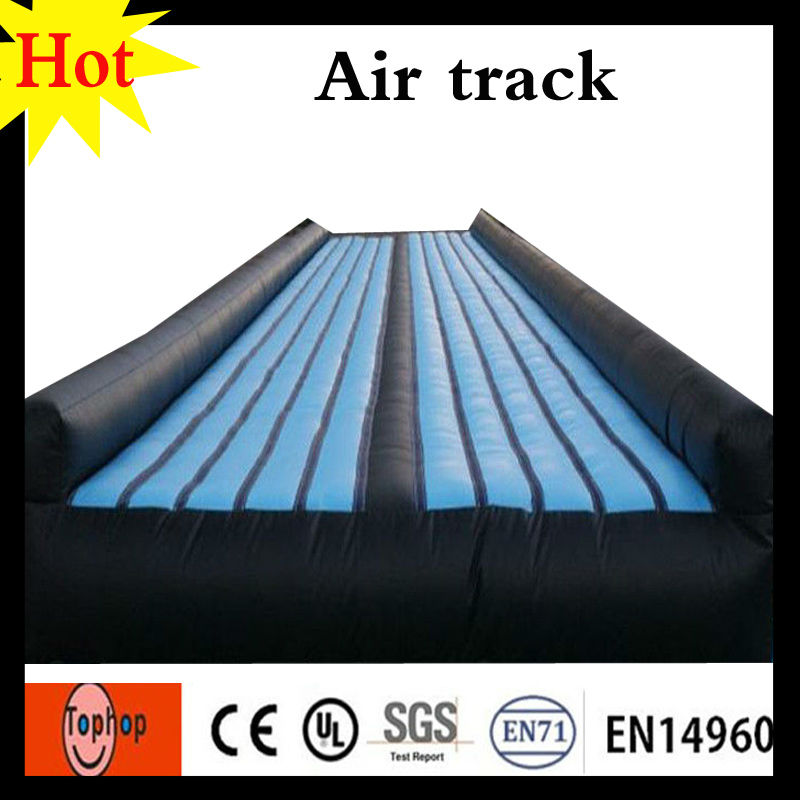 14x2x0 6m Black Blue Inflatable Gym Mat Camping Matress