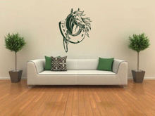 Free Shipping Kids Room Art Decor Wall Sticker Vinyl Horse Shoes Mural Removable Home Decorative Wallpaper Y-682