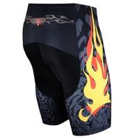 Men Cycling Sport Coolmax Shockproof Underwear Compression Tights Bike Shorts