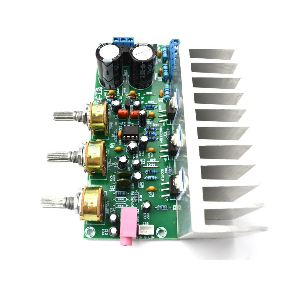 Lusya 60w Tda2050 Tda2030 21 Channel 18w2 32w Subwoofer Power Amplifier Hifi Circuit Schematic Electronics Board With Heatsink D5 006 In From Consumer On