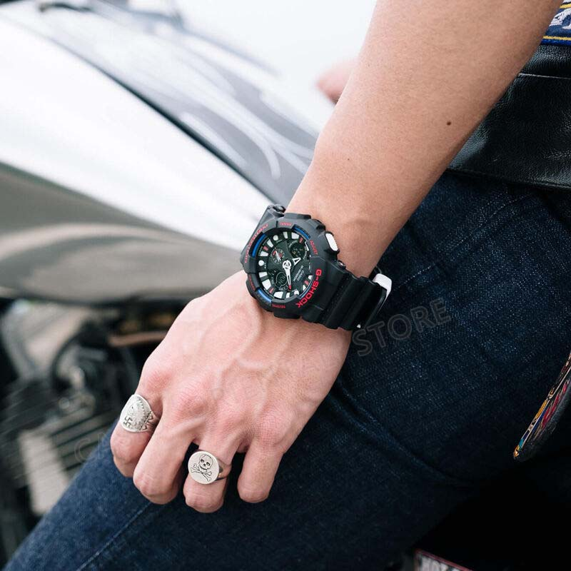 ab250c91355 Montre CASIO G SHOCK Double Affichage Montre Bracelet Hommes Étanche LED  Montre de Sport Relogio Masculino Horloge Mâle Cadeau De Mode GA 120 1A  dans ...