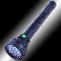 قوي ضوء المصباح عالية الطاقة 22000lm 32650 قابلة للشحن المصباح 18 النواة t6 بدون بطارية