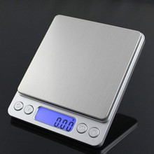 Прецизионный цифровой кухонные электронные весы с балансировкой Высокая Точность ювелирные изделия еда диетические весы с 2 страйками