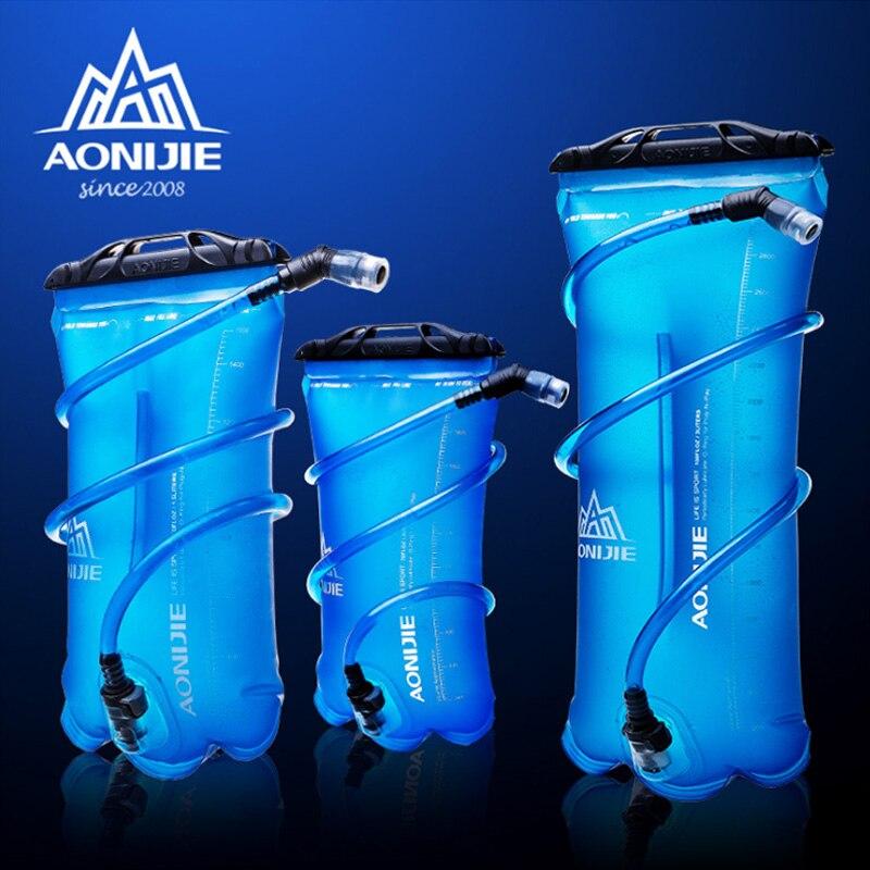 AONIJIE 1.5L//2.5L deporte al aire libre Ciclismo bolsa de agua hidrataci/ón boca agua vejiga bolsa correr//Camping//Senderismo//escalada equipo
