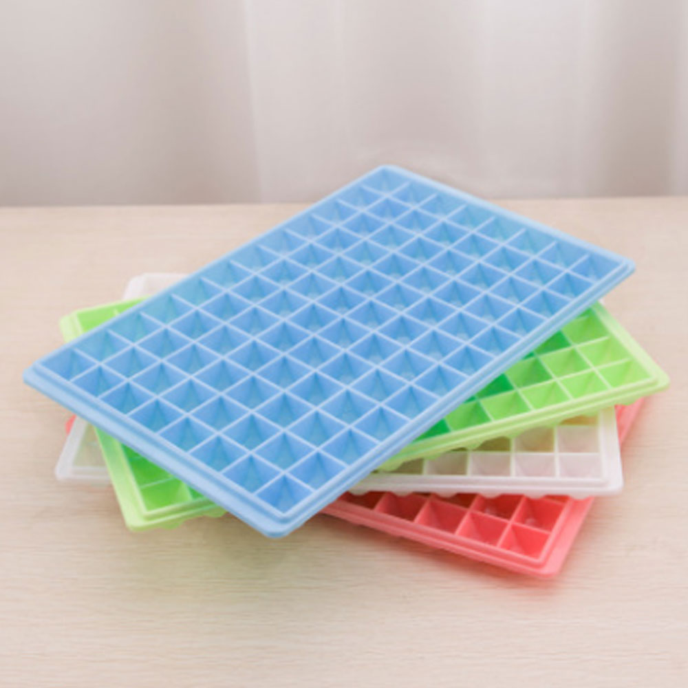 G&T 60 Grids Creative Ice Cube Tray Square Shape Ice Cube Mold Cute Ice Making Box DIY Ice Cream Tubs Bar Kitchen Accessories