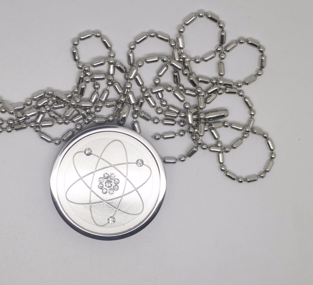Free shipping quantum energy pendant stainless steel pendant health anion energy stone is mineral crystal universe rich in energy and a lot of negative ion ceramic ionic energy stone pendant contains natural active carbon aloadofball Images