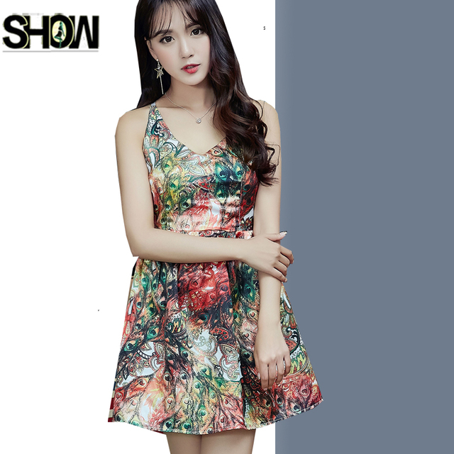 e206febac2 Sexy Hot Dresses New Hot Sales Women Fashion Summer Party Work Wear Slim A  Line Floral
