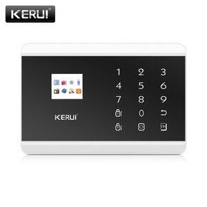 Image 2 - Pannello di Controllo di Allarme KERUI 8218G Bianco Nero IOS Android APP controllo GSM PSTN Antifurto Casa Sistema di Allarme di Sicurezza