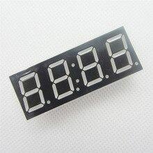 50 adet Ortak Anot 4bit 4 bit Dijital Tüp Ile 0.56 inç Kırmızı LED Saat Haneli 7 Segment (SAAT)