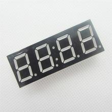 50 pcs אנודה משותף 4bit 4 קצת צינור דיגיטלי 0.56 אינץ אדום LED עם שעון ספרות 7 מגזר (שעון)