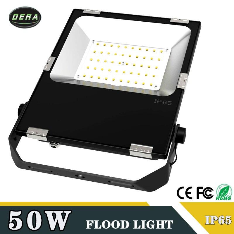 50 W led projecteur IP65 éclairage étanche Lampe Gardden Rue Éclairage Extérieur Projecteur 220 V 110-277 v livraison gratuite