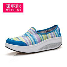 Women Sports Sneakers Breathable Walking Shoes Height Increasing Outdoors Trainers Female Lightweight Athletic Shoes AA50019