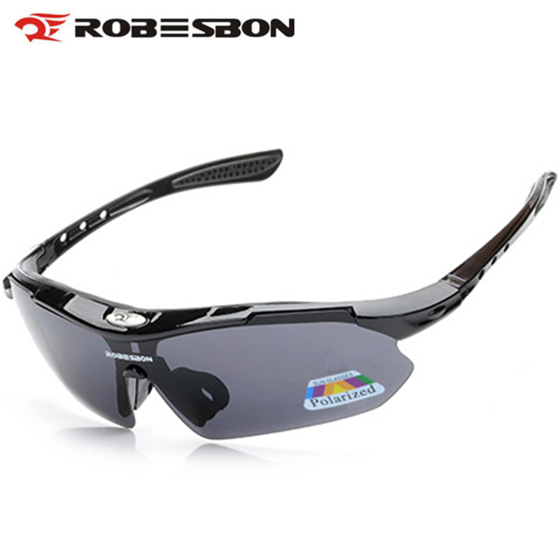 Prix pour Robesbon polarisées vélo lunettes uv400 protéger mountain road vélo soleil lunettes vtt course à pied de pêche lunettes de soleil m7307