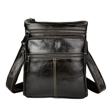 New Fashion Real Leather Male Casual messenger bag Satchel cowhide 8