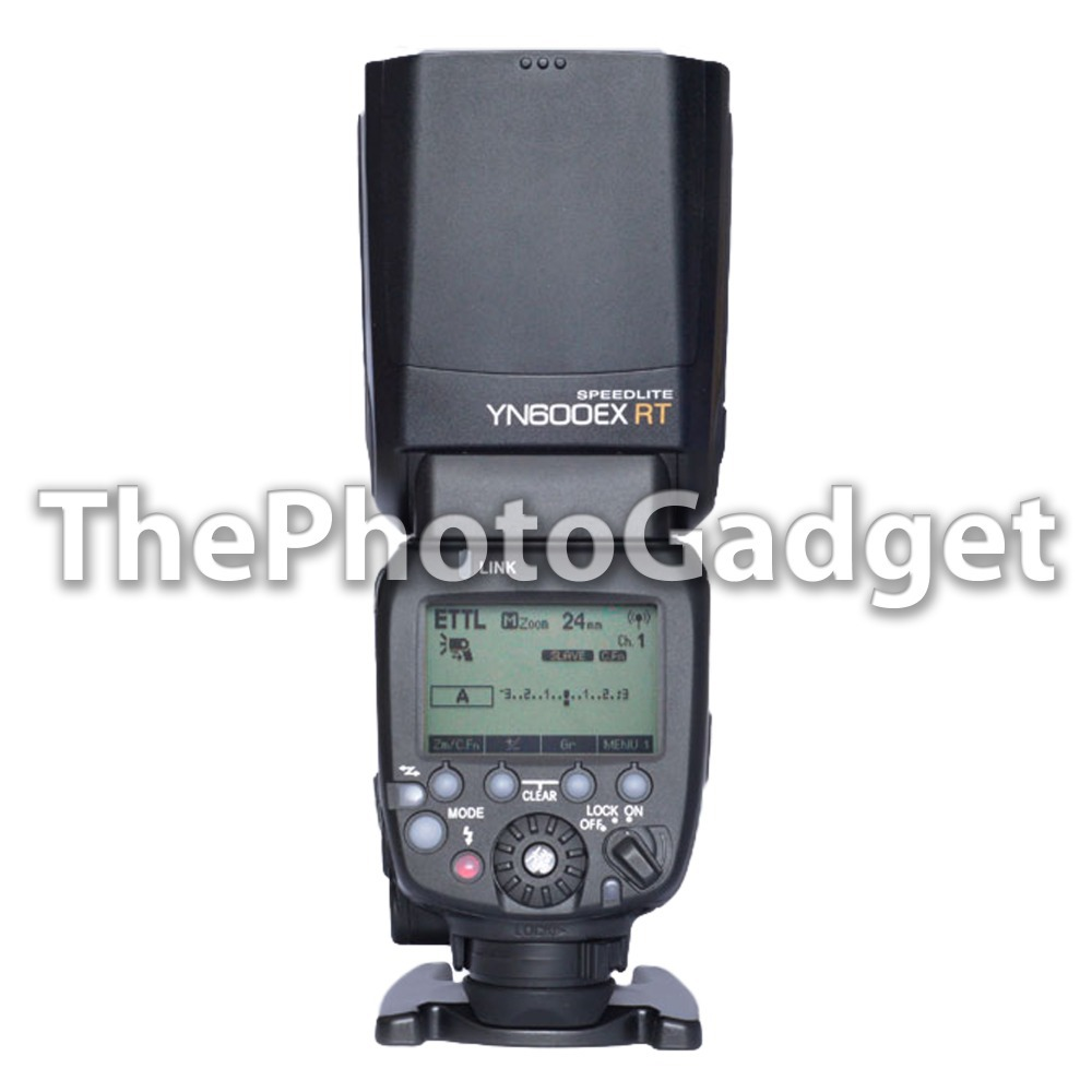 Yongnuo Wireless YN600EX RT Flash Speedlite Unit Master TTL Radio Slave for Canon