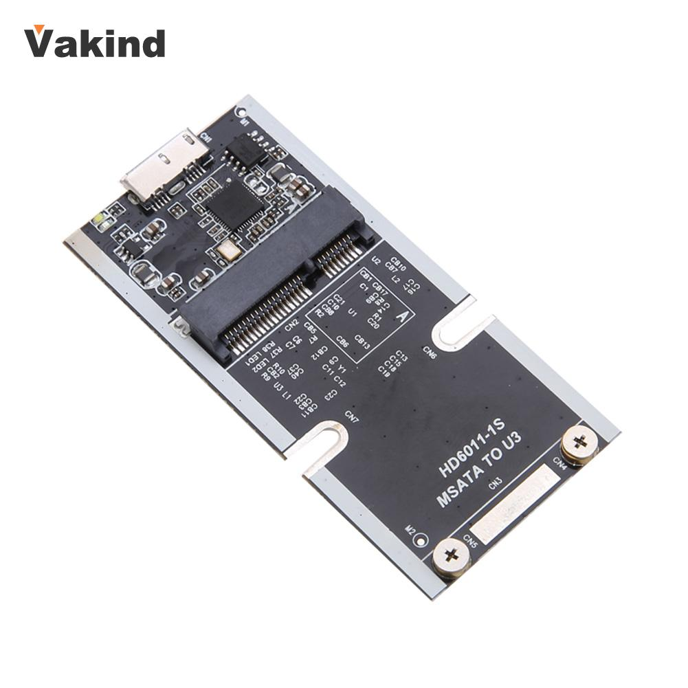 mSATA SSD to USB 3 0 Super Speed Converter Adapter Card SSD Solid State Drive Enclosure