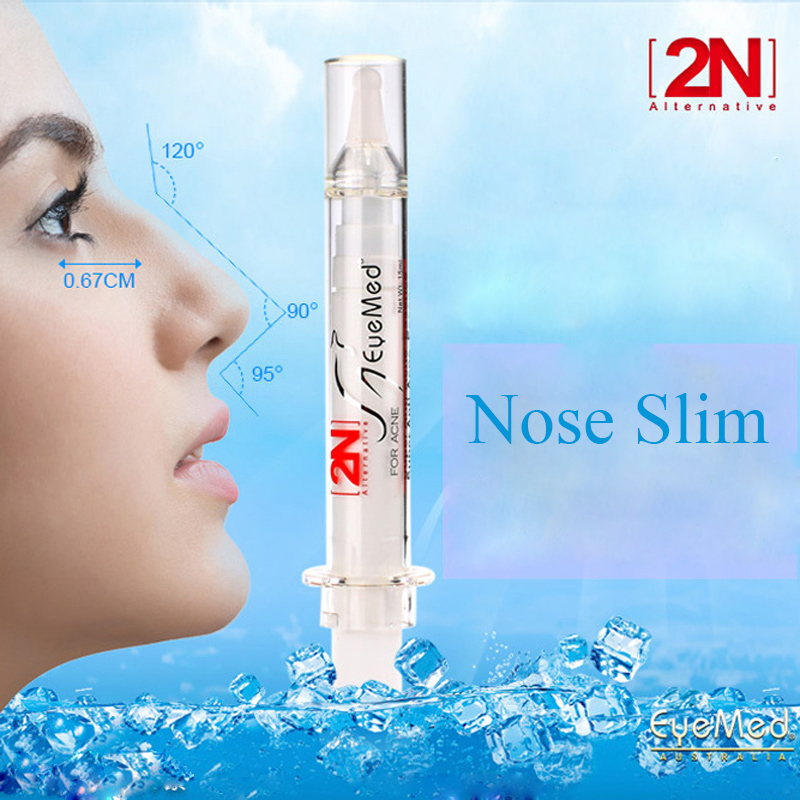 EyeMed 2N 3D Nasal Bone Remodeling Essence Nose Lift Cream Nose Heighten Slimming Shaping Needle Cream Hump Nose Beauty 15ml ckeyin electric vibrations nose massage nose clip up nose lifting shaping shaper bridge straightening massager for face slimming