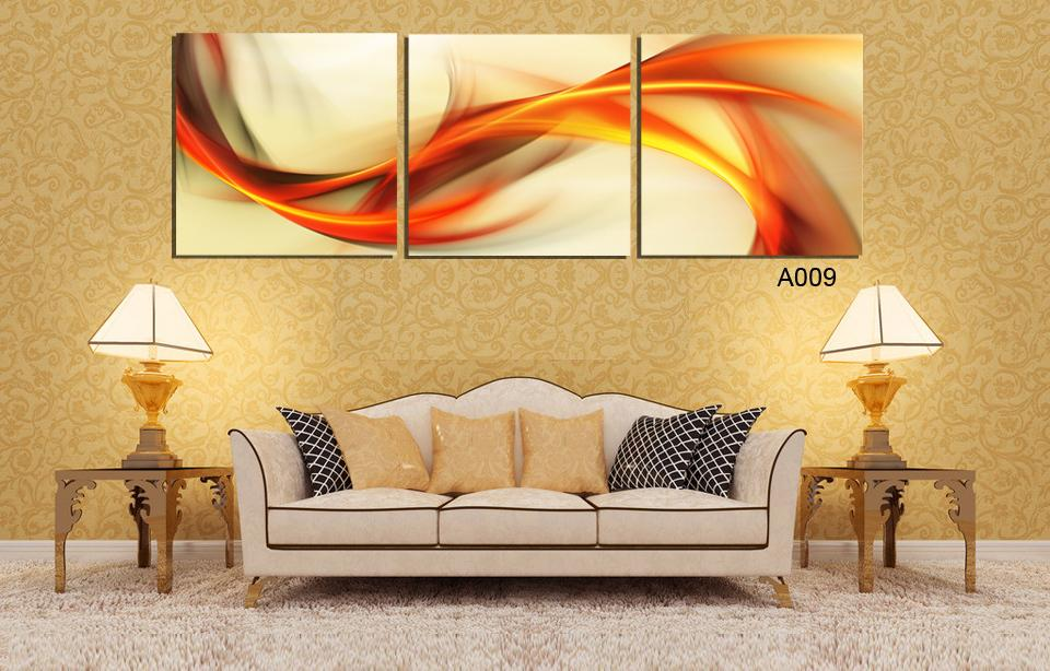 Free Shipping 3 pieces wall canvas painting Home Decor Modern ...