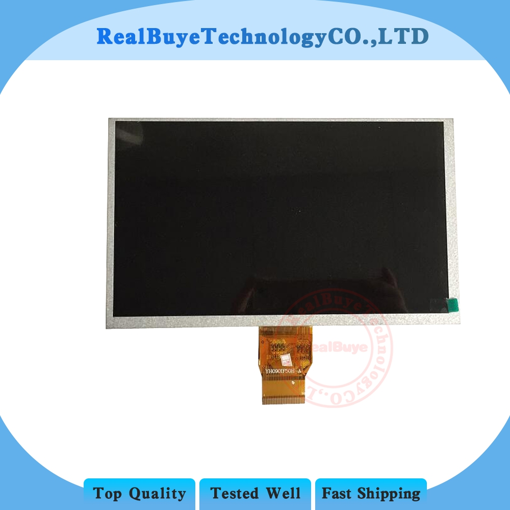 A+211x126mm 9 inch LCD Display screen Panel YH090IF50H-A 50PINS 1024*600 LCD Screen Digitizer Sensor Replacement