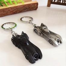 batman superman metal keychain small pendant cool gifts for men boy boyfriend car key chain ring holder buckle anime keychain