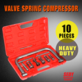 10 Piece Valve Spring Compressor Tool Kit for Auto Car Truck Motorcycle AU