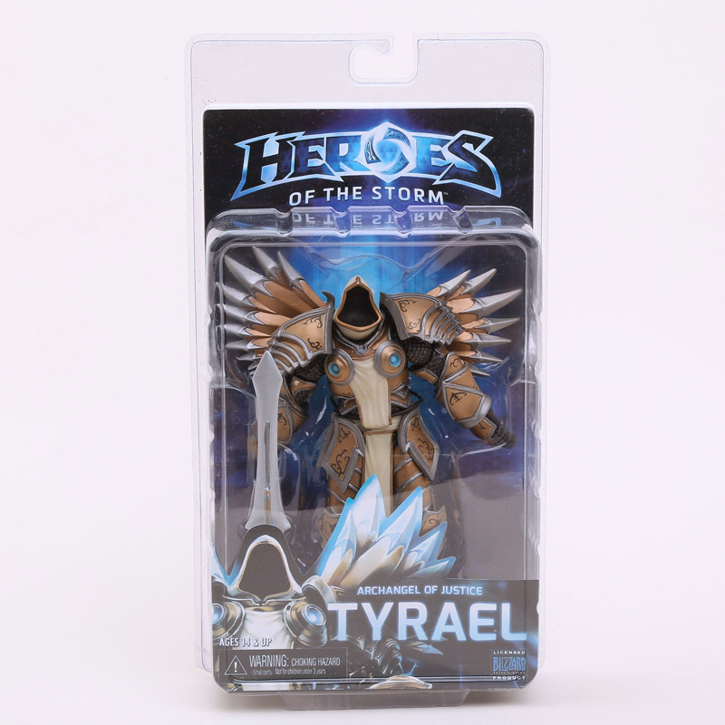 NECA Heroes of The Storm Tyrael PVC Action Figure Collectible Model Toy 7 18cmNECA Heroes of The Storm Tyrael PVC Action Figure Collectible Model Toy 7 18cm