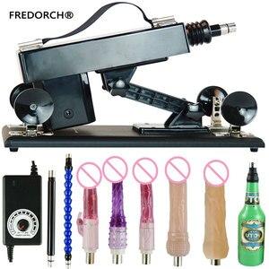 Image 1 - Fredorch atualize máquinas de sexo acessíveis para mulher máquina de amor de masturbação automática com vibrador grande vibração brinquedos sexuais