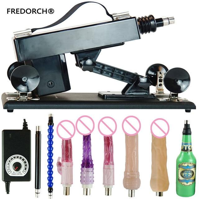Fredorch atualize máquinas de sexo acessíveis para mulher máquina de amor de masturbação automática com vibrador grande vibração brinquedos sexuais